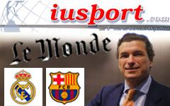Claves disputa real madrid, fc barcelona y le monde